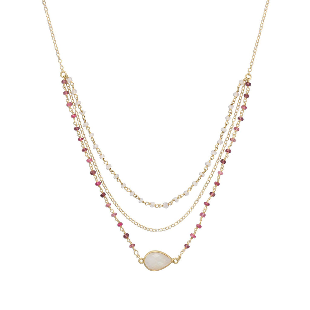 Pretty in Pink Necklace
