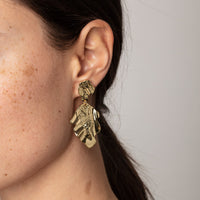 Valkyria Gold Earrings