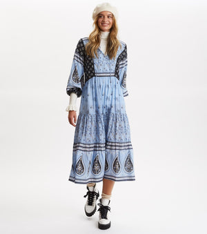 La Vie Boheme Dress, Sky Blue