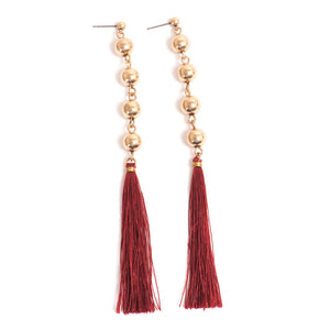 Party Tassels Earrings - Final Sale Item