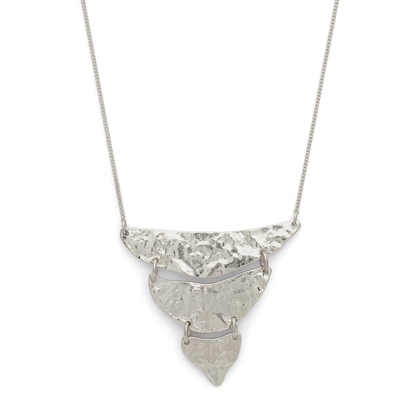 Marley Silver Triangular Necklace