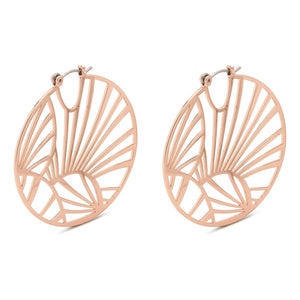 Asami Rose Gold Earrings