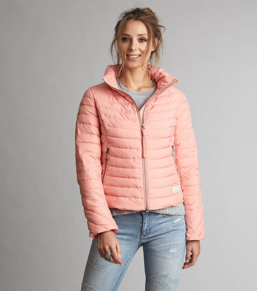 Downfall Coral Jacket