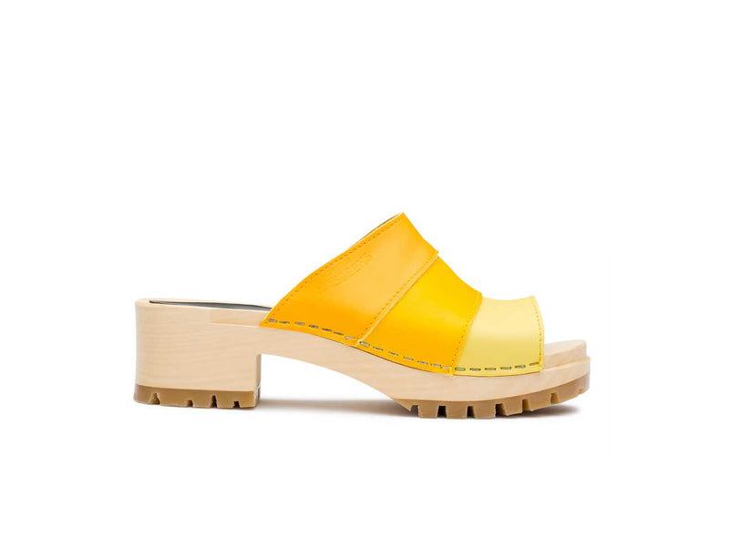 Mona Yellow Combo Sandals