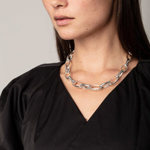 Rán Silver Chain Necklace