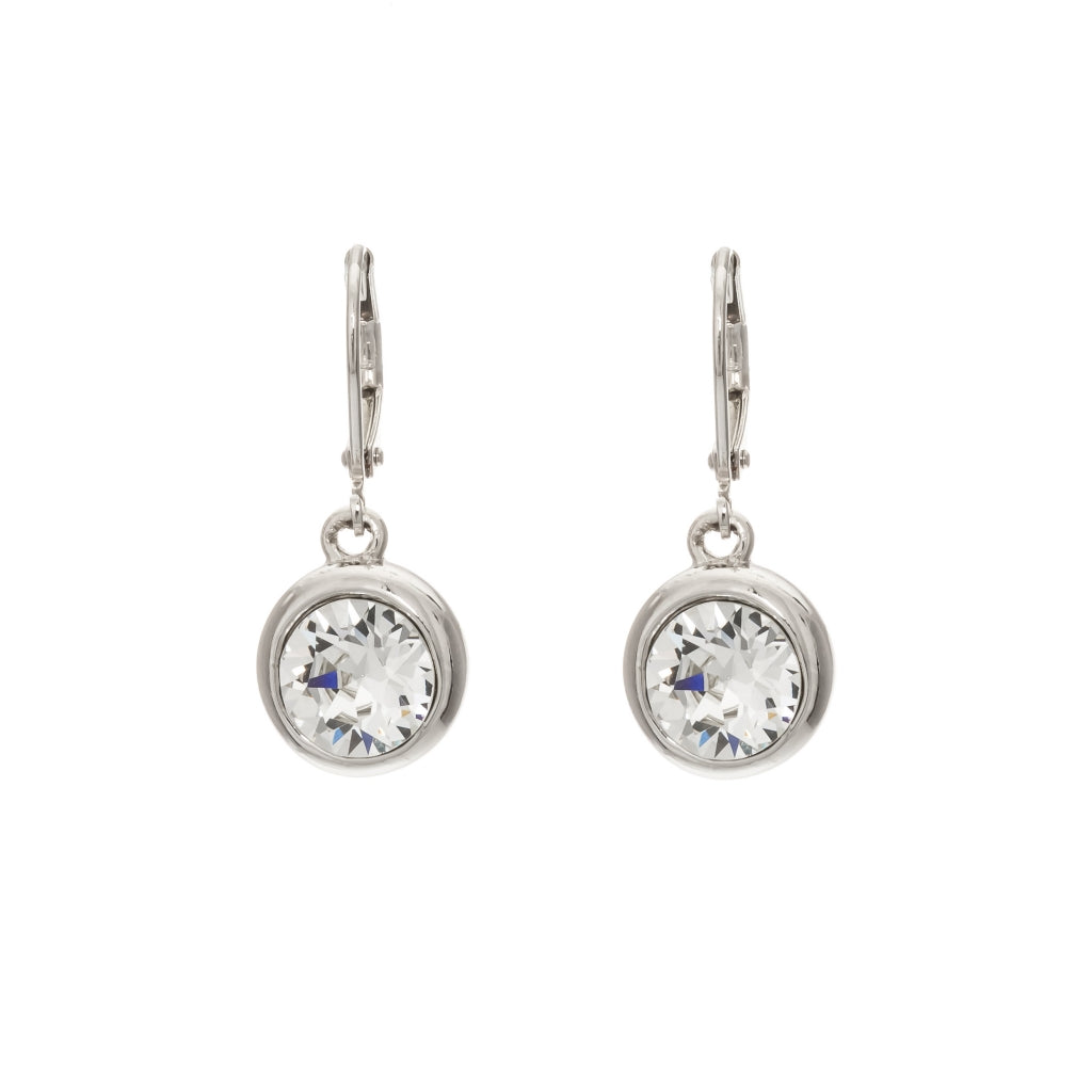 Merx Clear Crystal Earrings