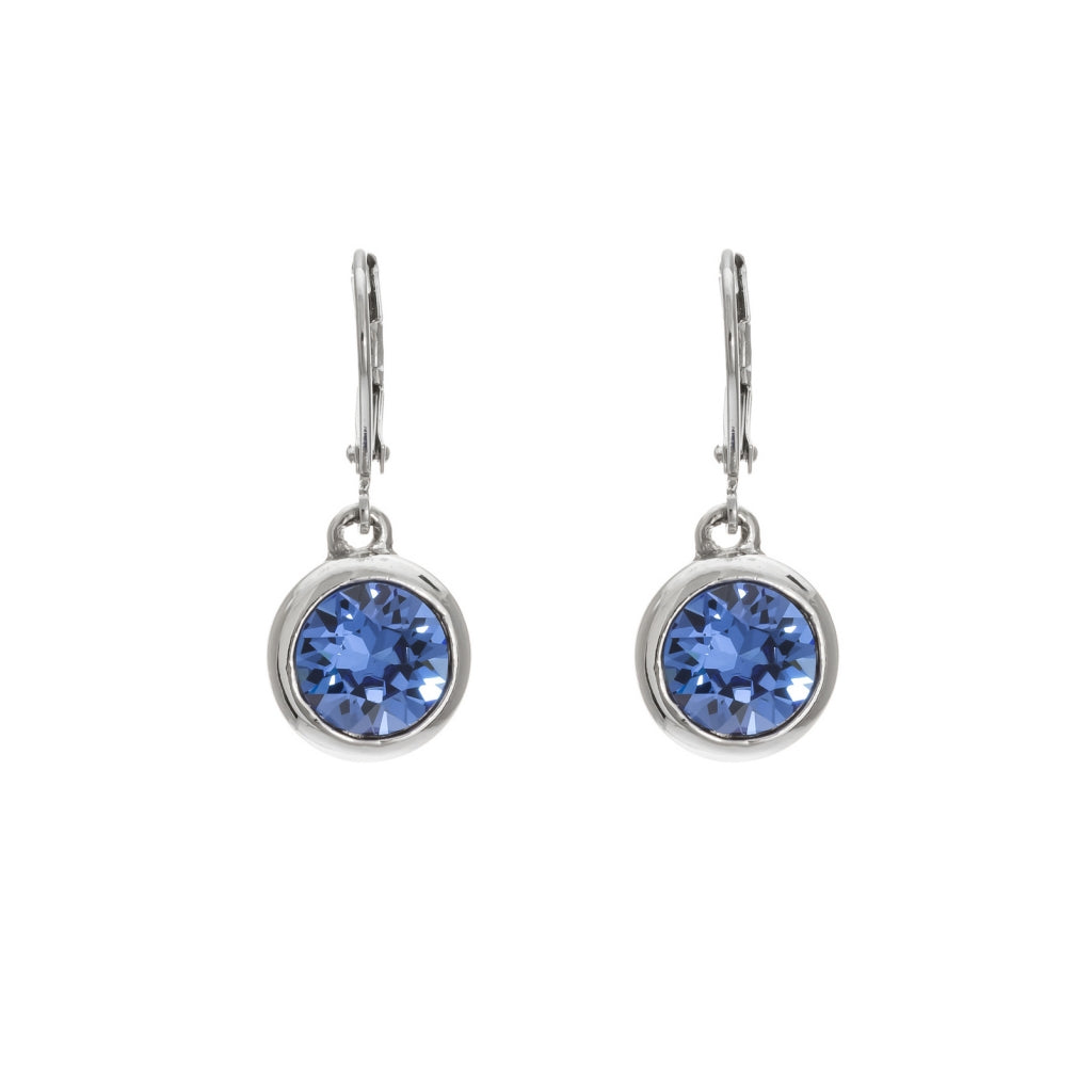 Merx Crystal Sapphire Earrings