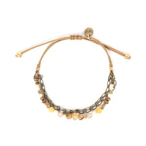Nina Three Row Macrame Bracelet