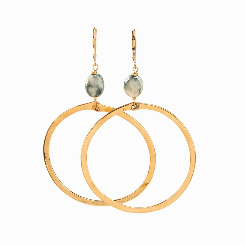Kent Hoop Earrings
