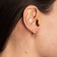 Salana Gold Earrings