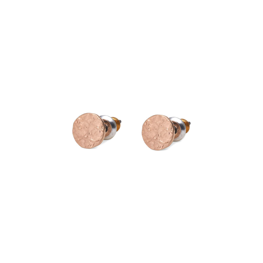 Angelina Post Earrings - Rose Gold