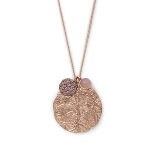 Angelina Rose Gold Pendant Necklace