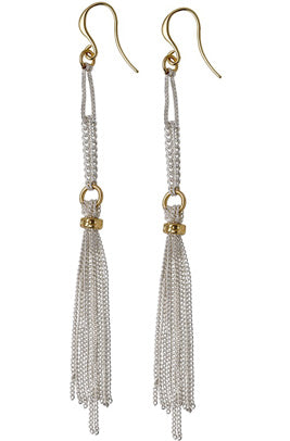 Breanna Long Tassel Earrings