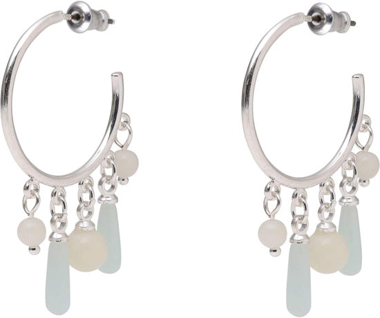 Halley Medium Hoop Earrings