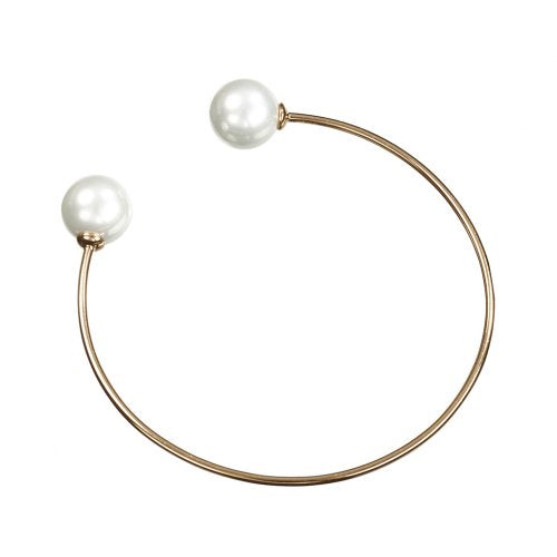 Blue Moon Pearl Bangle