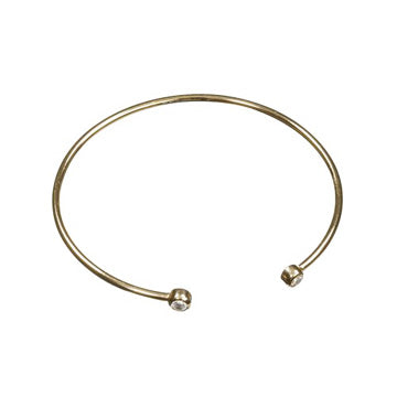 Shine Gold Engraved Bracelet