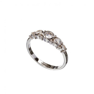 Mini Five Zircon Ring