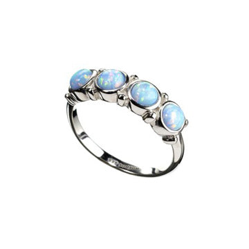 Darling Aqua Opal Ring