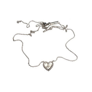 Heart Silver Necklace