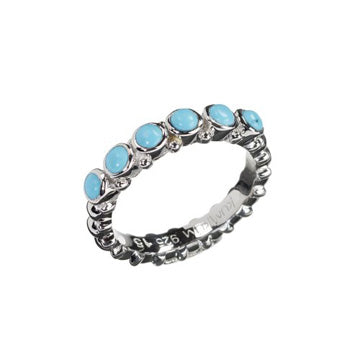 Pretty Turquoise Siver Ring
