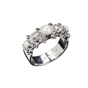 Sweet Pearl, Zircon Ring