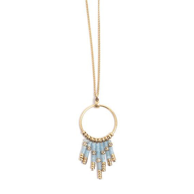 Summer Vibes Blue Necklace