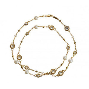 Lily Gold Necklace