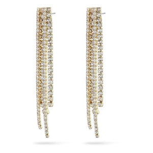 Rachel Gold Crystal Earrings