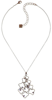 From Joanna with Love, Shimmer Antique Copper Pendant Necklace