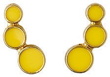 Yellow Earrings