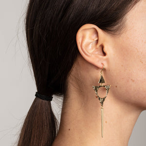 Sigyn Gold Earrings