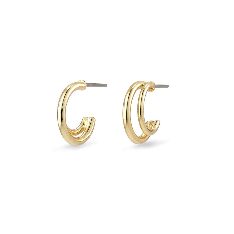Jezebel Gold Hoop Earrings