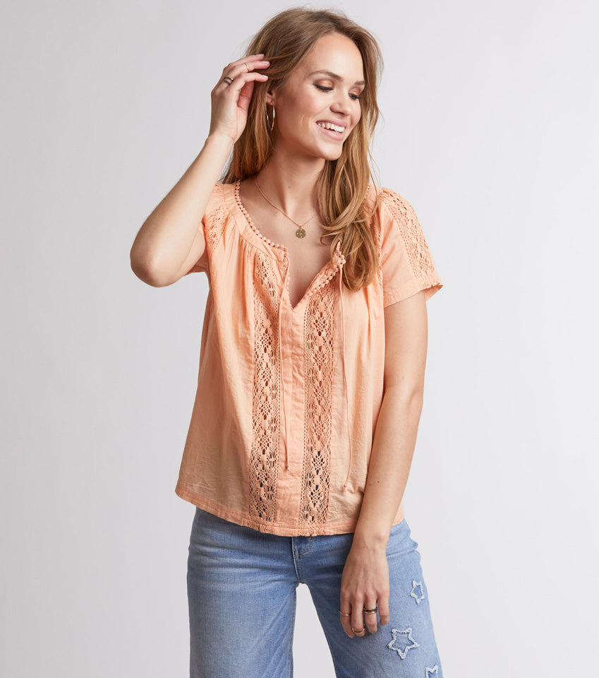 Take Me To Topanga Top - Final Sale Item