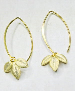 Exotic  Leaf Branch Earrings