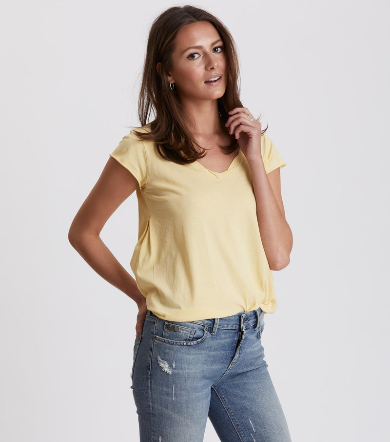 Trashin' Light Yellow Top