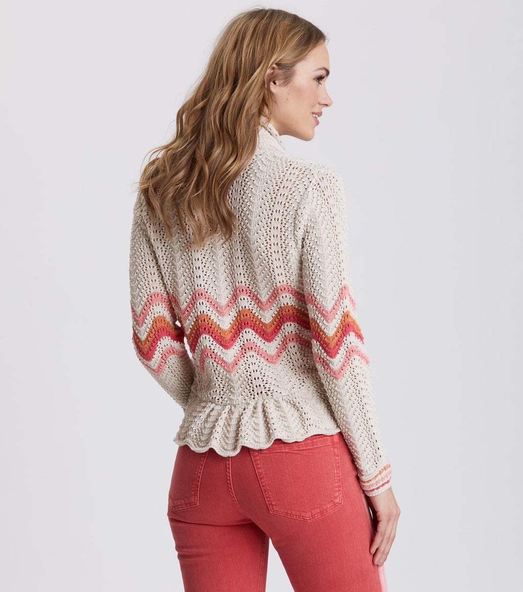 Can-Can Light Porcelain Cardigan