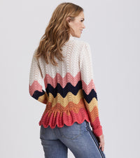 Can-Can Multi Cardigan