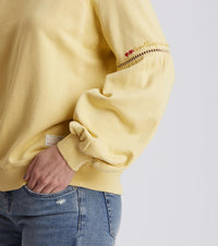 Easy Rhytm Light Yellow Top