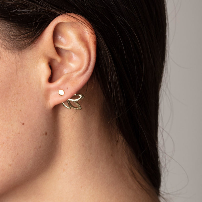 Tansy Gold Earrings