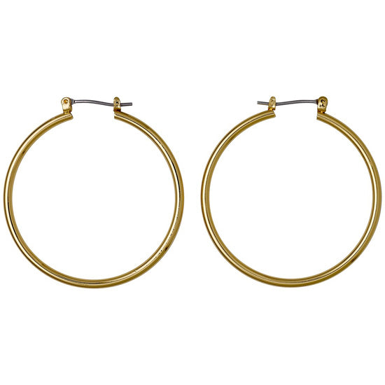 Layla Small Hoop Earrings - Gold