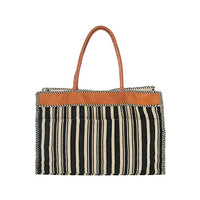 Large Naomi Tote, Black