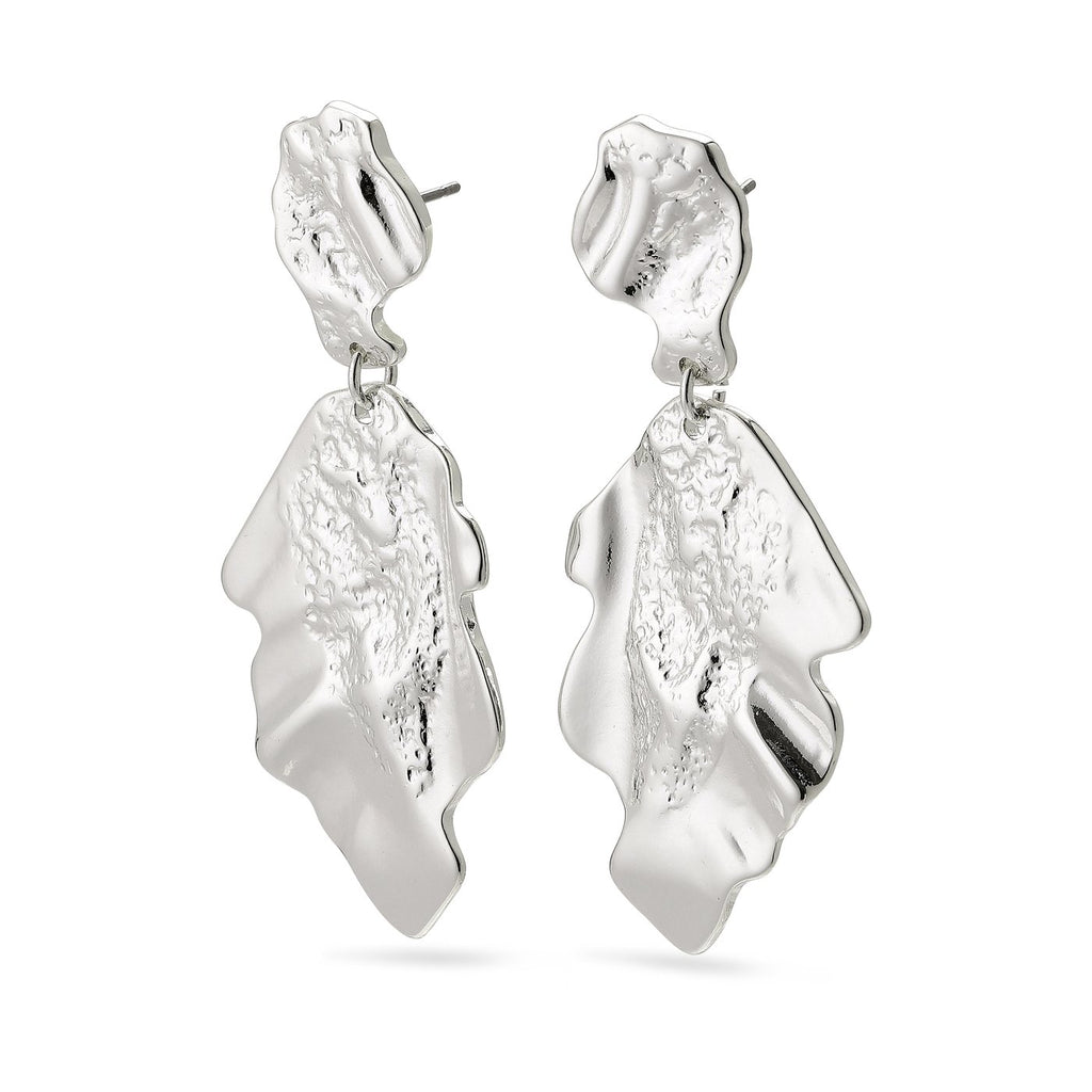 Valkyria Silver Earrings