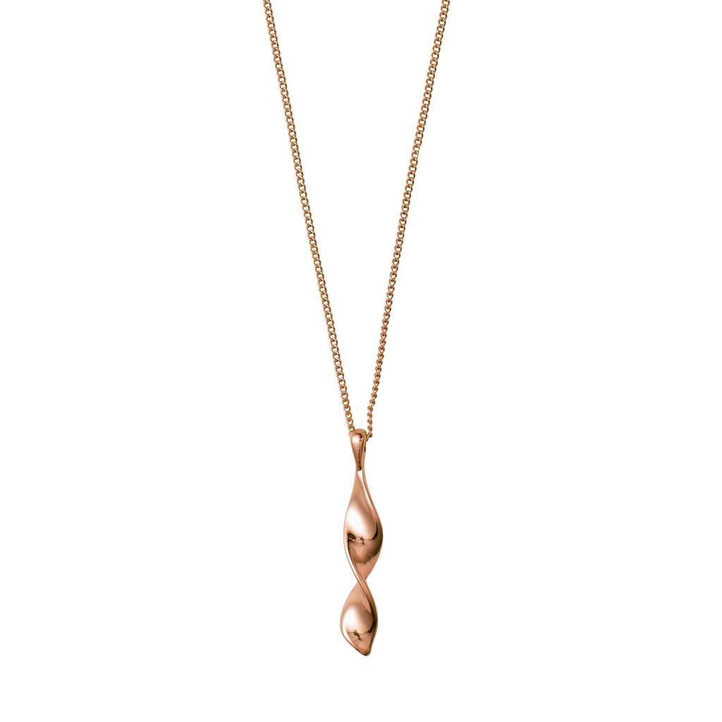 Elaine Rose Gold Necklace