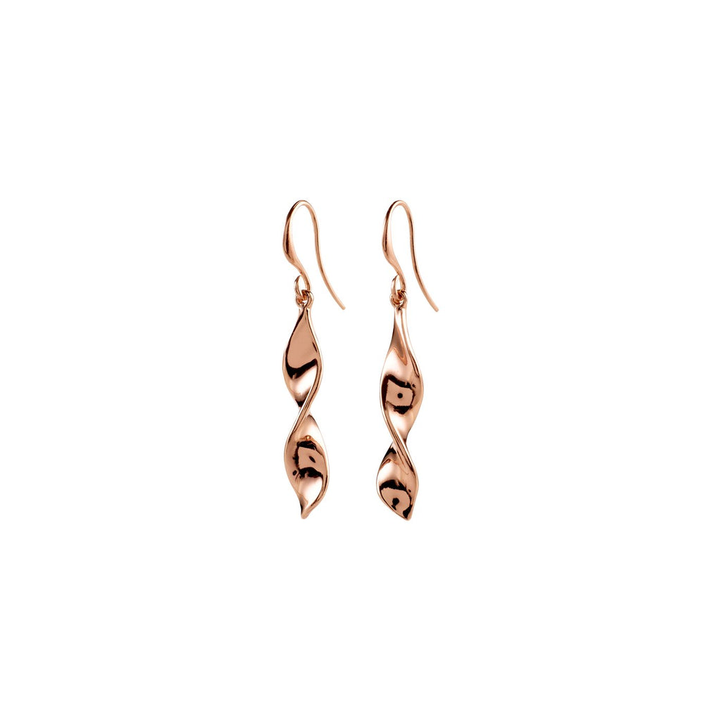 Elaine Rose Gold Earrings