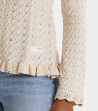 Wrap Up & Go Sweater, Light Porcelain