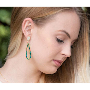 By the Sea Post Drop Earrings