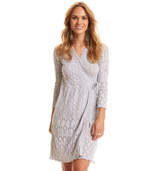 Pretty on the Loose Wrap Dress