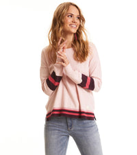 Hoower Pink Sweater