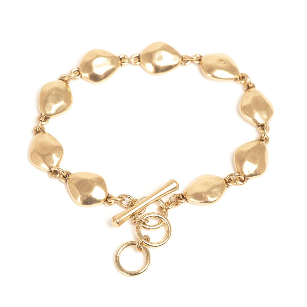 Gold Nuggets Bracelet