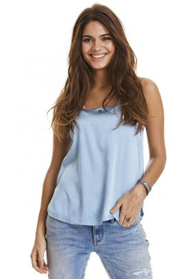 Won't Stop Dusty Blue Tank Top
